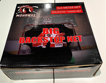Mohawke Big Backstop net