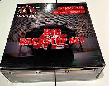 Mohawke Big Backstop net