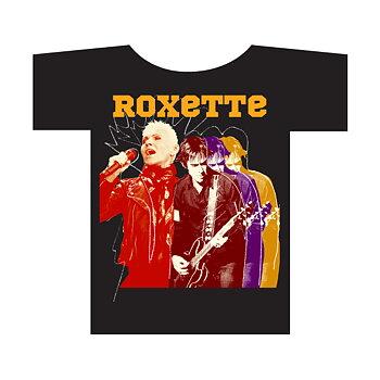 ROXETTE - T-SHRT, FOTO SVART (2014)