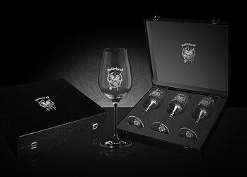 MOTÖRHEAD - WHITE WINE GLASSES (3-PACK)