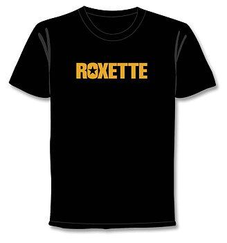 ROXETTE - T-SHIRT, FLOORO LOGO