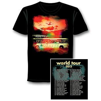 ROXETTE - T-SHRT, TRAVELLING WORLD TOUR