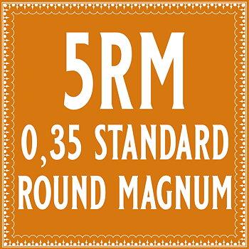 35/5 Standard Round Magnum