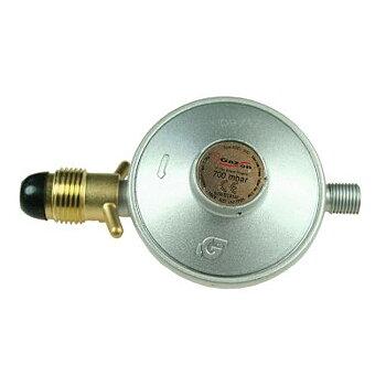 Reduceringsventil för gasol 50 MBar med utgående  utv 1/4 gänga