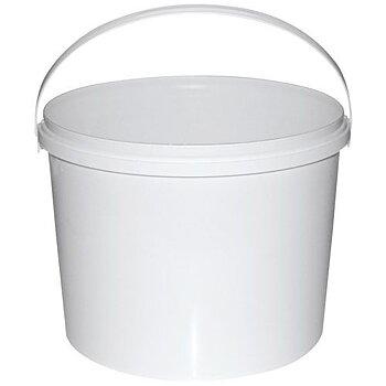 Bøtte med lokk Hvit 2.3L