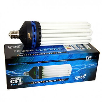 Superplant Low Energy Lamp 300W, 6400K Grow
