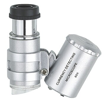 Pocket-Microscope, magnification 60 times