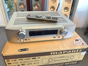 Marantz NR1608 - Beg reciever för stereo och hembio