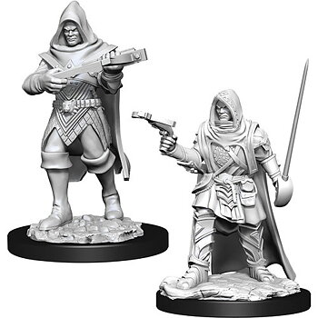 Pathfinder Battles Deep Cuts Minis: Male Human Rogue