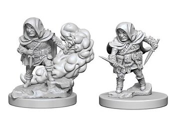 D&D Nolzurs Marvelous Miniatures: Halfling Male Rogue