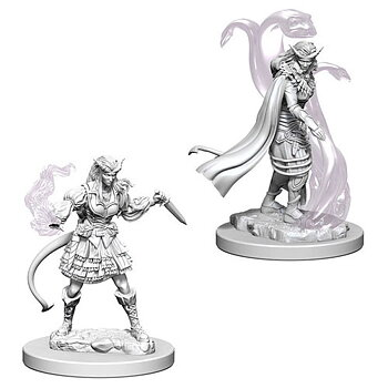 D&D Nolzurs Marvelous Miniatures: Tiefling Female Sorcerer