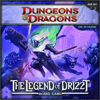 Dungeons & Dragons - Legend Of Drizzt Board Game