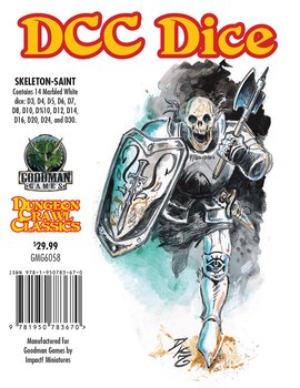 Dungeon Crawl Classics: Skeleton Saint Dice