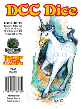 Dungeon Crawl Classics: Beaked Unicorn Dice