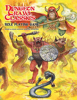 Dungeon Crawl Classics RPG - Softcover Beastman Edition