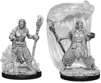 D&D Nolzurs Marvelous Miniatures: Water Genasi Male Druid