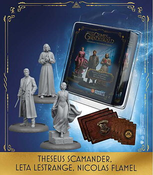 Thesus Scamander & Leta Lestrange & Nicolas Flamel