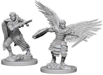 D&D Nolzurs Marvelous Miniatures: Male Aasimar Fighters
