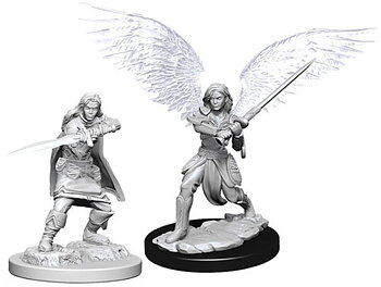 D&D Nolzurs Marvelous Miniatures: Female Aasimar Fighters