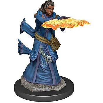 D&D Premium Painted Figure: Female Human Wizard