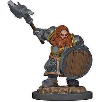 D&D Premium Painted Figure: Male Dwarf Fighter