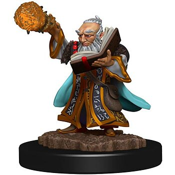 D&D Premium Painted Figure: Male Gnome Wizard