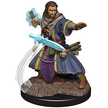 D&D Premium Painted Figure: Male Human Wizard