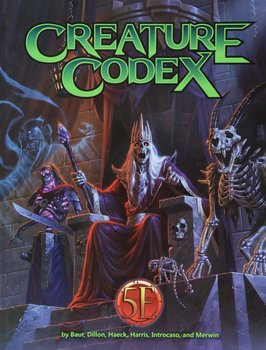 Dungeons & Dragons RPG - Creature Codex Pocket Edition