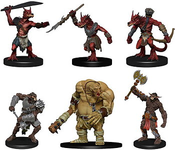 D&D Nolzurs Marvelous Unpainted Miniatures: Cave Defenders