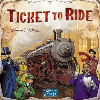 Ticket to Ride USA (Svenska)