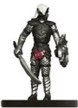 Demonweb #22 Spiderbound Drow Warrior (Begagnad)