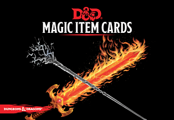 Dungeons & Dragons - Spellbook Cards Magic Item Cards (292 cards)