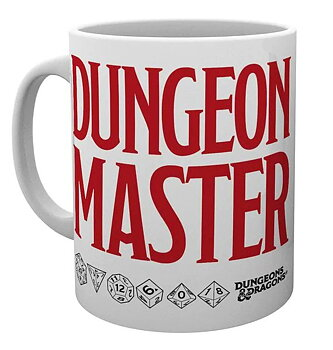 Dungeons and Dragons: Dungeon Master Mug