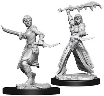 D&D Nolzurs Marvelous Unpainted Miniatures: Female Human Rogue