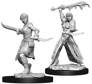 D&D Nolzurs Marvelous Unpainted Miniatures: Female Human Rogue