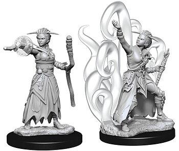 D&D Nolzurs Marvelous Unpainted Miniatures: Female Human Warlock