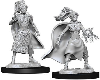 D&D Nolzurs Marvelous Unpainted Miniatures: Female Human Sorcerer