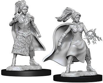 D&D Nolzurs Marvelous Unpainted Miniatures: Female Human Sorcerer