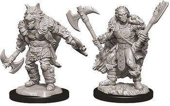 D&D Nolzurs Marvelous Unpainted Miniatures: Male Half-Orc Barbarian