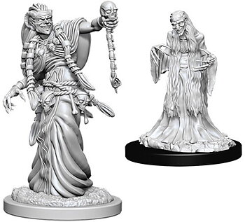 D&D Nolzurs Marvelous Unpainted Miniatures: Green Hag & Night Hag