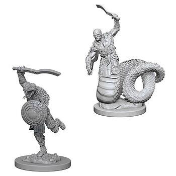 D&D Nolzurs Marvelous Miniatures: Yuan-Ti Malisons