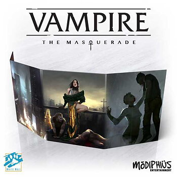 Vampire: The Masquerade (5th ed) Storyteller Screen