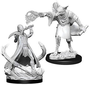 D&D Nolzurs Marvelous Miniatures: Arcanaloth & Ultroloth