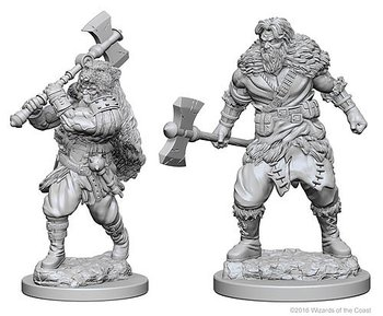 D&D Nolzurs Marvelous Miniatures: Human Male Barbarian