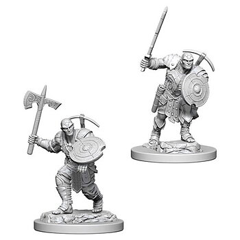 D&D Nolzurs Marvelous Miniatures: Earth Genasi Male Fighter