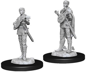 D&D Nolzurs Marvelous Miniatures: Female Half-Elf Bard