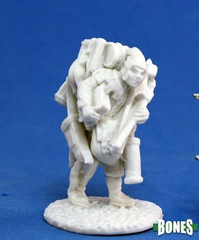 Reaper Miniatures: Townsfolk: Oswald The Overladen