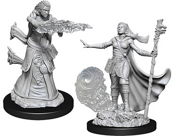 D&D Nolzurs Marvelous Miniatures: Female Human Wizard