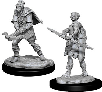D&D Nolzurs Marvelous Miniatures: Female Human Ranger