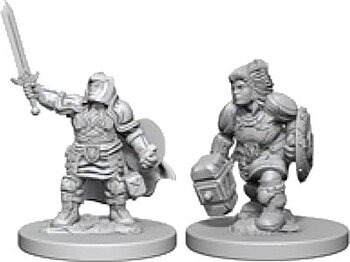 D&D Nolzurs Marvelous Miniatures: Dwarf Female Paladin